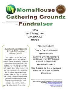 Gathering Groundz Fundraiser Flyer