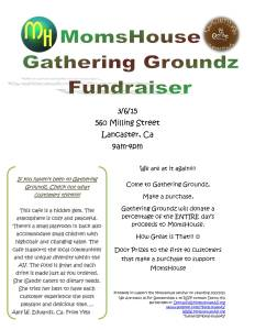 Gathering Groundz Fundraiser Flyer